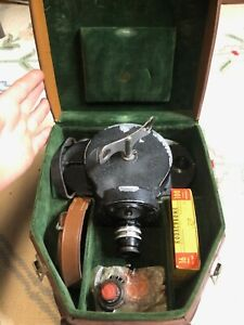 Bell and Howell Filmo 70 motion picture camera in case Taylor Hobson Cooke Lens