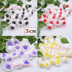 500 Foam Flowers 3cm Artificial Roses Head Party Wedding Bouquet Home Decor