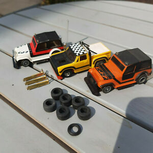 TCR Total Control Racing Cars Jeeps+Jam Car