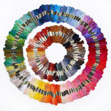 50-200 Pcs Cross Stitch Useful Hand Embroidery Thread Floss Sewing Skeins
