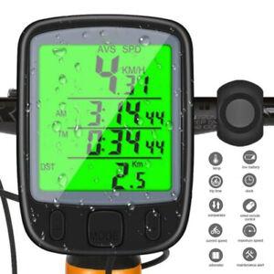 Digital LCD Bicycle Cycle Bike Computer Speedometer Odometer Meter Waterproof