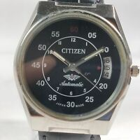 Vintage Citizen Automatic Movement Date Dial Mens Analog Wrist Watch CA175