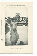 CONGO FRANCAIS HAUT OUBANGUI , TYPE DE FEMME BANDZIRI,FEMME NUE , NUDE