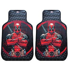 New Plasticolor Deadpool Car Truck Suv All Weather Rubber Front Floor Mats