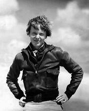 Woman Aviator AMELIA EARHART Glossy 8x10 Photo Vintage Photograph Reprint