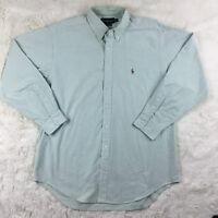 Ralph Lauren Men's Size 17 (34/35) Classic Fit Long Sleeve Button Up Shirt
