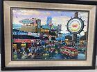Alexander Chen Fisherman's Wharf Canvas 22 5/8 x 34