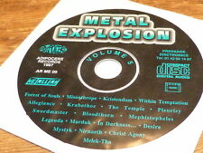 Various ‎– Metal Explosion Volume 5 !!!! RARE CD PROMO!!!!FRANCE