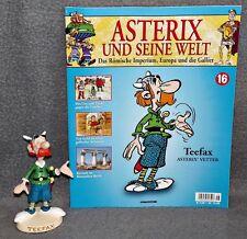 Asterix und seine Welt - Teefax 16 - Figur + Heft Magazin Figur Plastoy Deko