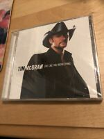 TIM MCGRAW - LIVE LIKE YOU WERE DYING - CD - BRAND NEW