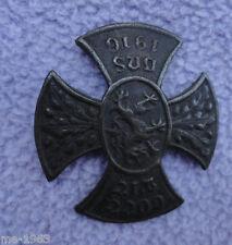 original  Kreuz Abzeichen Gott mit uns  1916  Darstellung  Greif