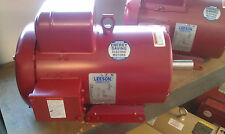 "1HP 1PH 1800RPM 115/230V 56 TEFC 5/8"" SHAFT LEESON FARM DUTY MOTOR #110088"