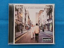 "OASIS           ""(WHAT'S  THE  STORY)  MORNING  GLORY""   CD  /  USED"