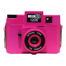 Holgaglo Fuschia Fusion Pink 120 N Glow in Dark Camera Holga 307-120 FREE SHIP