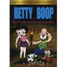 BETTY BOOP: The World's First Female Superhero (DVD, 2004) New / Free Shipping