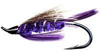 Purple Peril Steelhead Fly Fishing Flies - ONE FLY in Choice of Hook Size