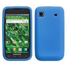 Blue Silicone Skin Case Samsung Galaxy S 4G T959V