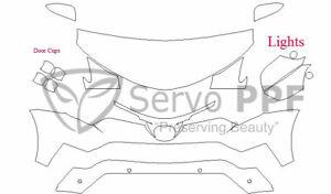 Precut 3M PRO Series Clear Bra Kit for 16-18 Toyota RAV4 RAV 4