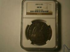 1859-O Seated Silver Dollar NGC AU50