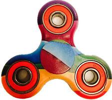 Diseño único de Orgullo Arco Iris Graffiti Splat intranquilo dedo Spinner estrés juguete