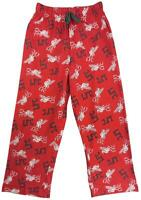 Boys Official LIVERPOOL L.F.C Lounge Pants Cotton Pyjama Bottoms 5 to 14 Years