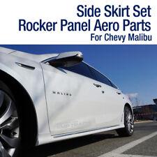 OEM Parts Side Skirt Set Rocker Panel Painted For Chevrolet 2016-2019 Malibu