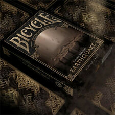 Bicycle Natural Disasters Deck - Earthquake - Playing Cards Magic Tricks - New