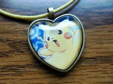 Pokemon Trading Card Pendant Keychain Necklace Pikachu Raichu Custom Cosplay 4