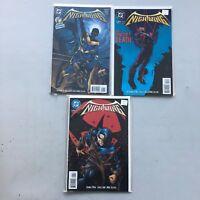 Lot of 3 Nightwing (1995 Mini Series) #1 3 4 VF Very Fine