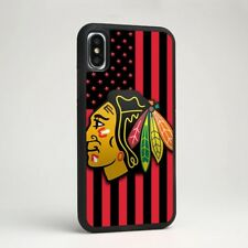Chicago Blackhawks NHL Hockey Silicone Phone Tpu Cover Case for iPhone Samsung