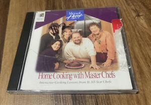 Julia Child Home Cooking With Master Chefs (PC, 1995) Windows Microsoft Software