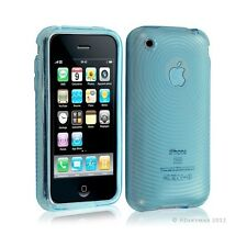 Housse étui coque en gel transparent pour Apple Iphone 3G/3Gs motif cercle coule