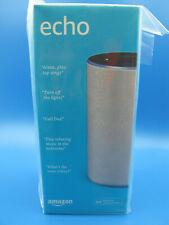 Amazon Echo (2nd Generation) - Smart speaker with Alexa - Sandstone Fabric NIB