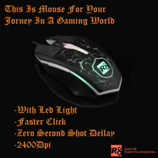 Genuine Gaming Mouse R8 New Version USB Wired Led Optical Professional Mouse