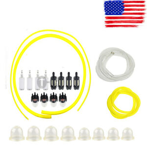 4 Sizes Tygon Fuel Filter Line Primer Bulb Kit For Small Engine Yard Machines