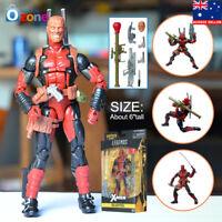 "6"" Deadpool Marvel Legends X-Men Action Figure Toys Gift"