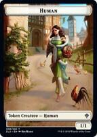 4x RatTOKEN 004//020Throne of EldraineMTG Magic Cards