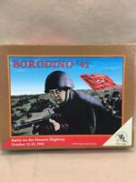 Clash of Arms Games: Borodino '41: Unpunched