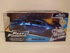 Fast & Furious 2009 Nissan GT-R R35 Die-cast 1:24 Jada Toys 7.5in Blue BEN SOPRA