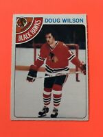 Doug Wilson 1978-79 O-Pee-Chee NHL Hockey Card #168