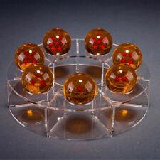 7 Pcs Anime Dragon Ball Dragonball Z Stars Crystal Diameter Ball Display Stand