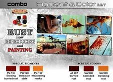 Lifecolor Combo SPG03 Rust Pigment & Color Set