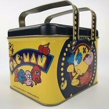 1980 Pac Man Picnic Style Tin Bally Midway Vintage Excellent Condition
