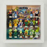 Minifigure Display Frame case Lego Hidden Side minifigs figures