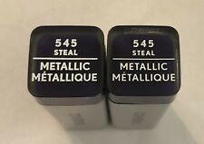 (2) Covergirl Exhibitionist Metallic Lipstick, 545 Steal