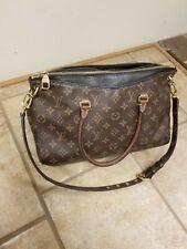 Louis Vuitton LV Monogram Pallas Noir SD2116 Handbag MM