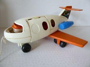 Vintage 1970 Fisher Price Fun Jet 183 - Aeroplane