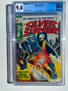 Silver Surfer #5 CGC 9.4
