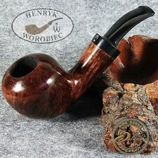 ORIGINAL SMOKING PIPE HANDMADE in POLAND by MASTER H.WOROBIEC nr.126 Brown