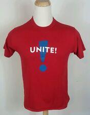 Vintage 70s 80s Republican Democrat Election Unite! T shirt 50 50 L Usa